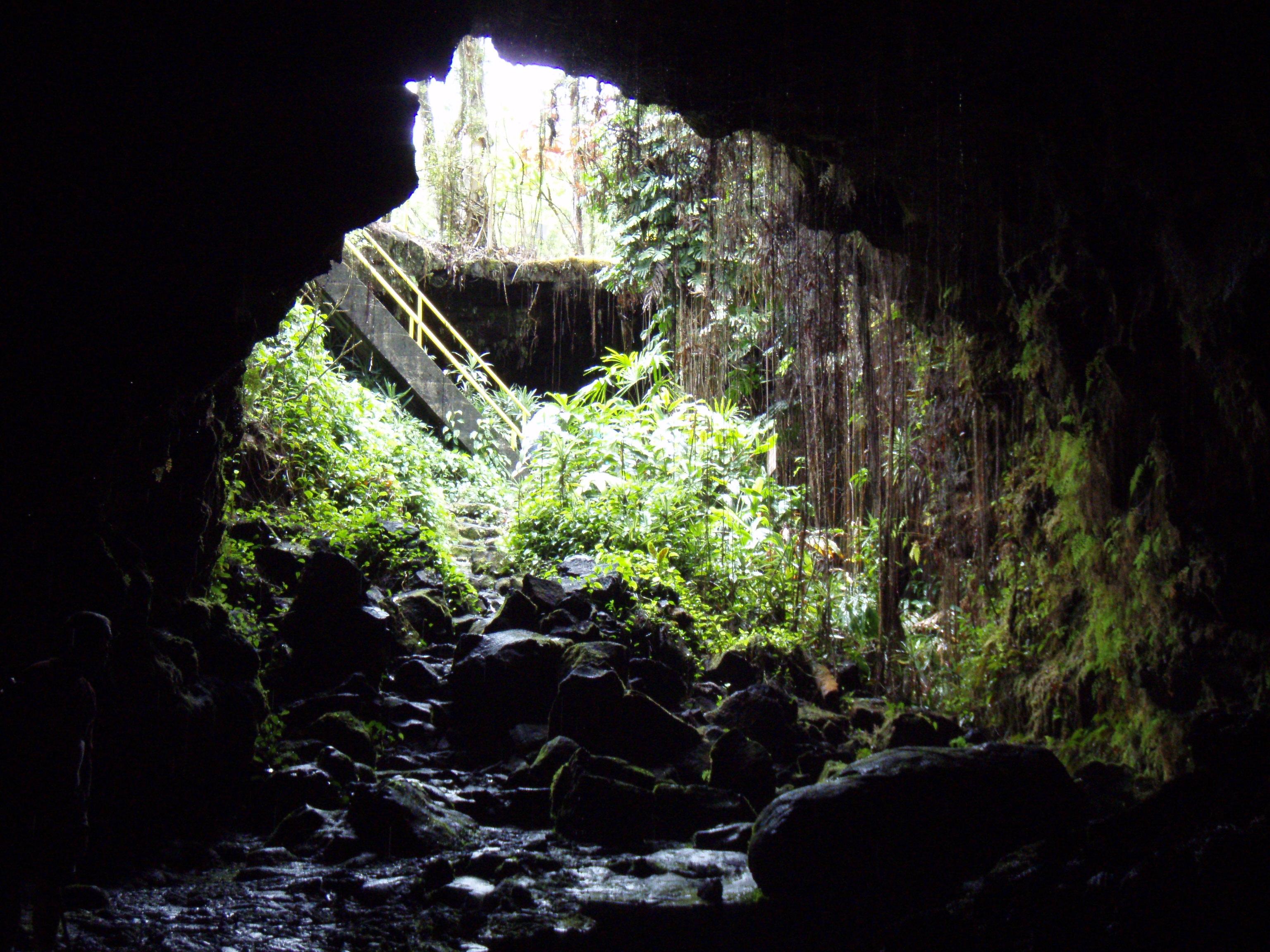 Explore a Lava Tube